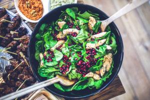 healthy meals - chicken salad