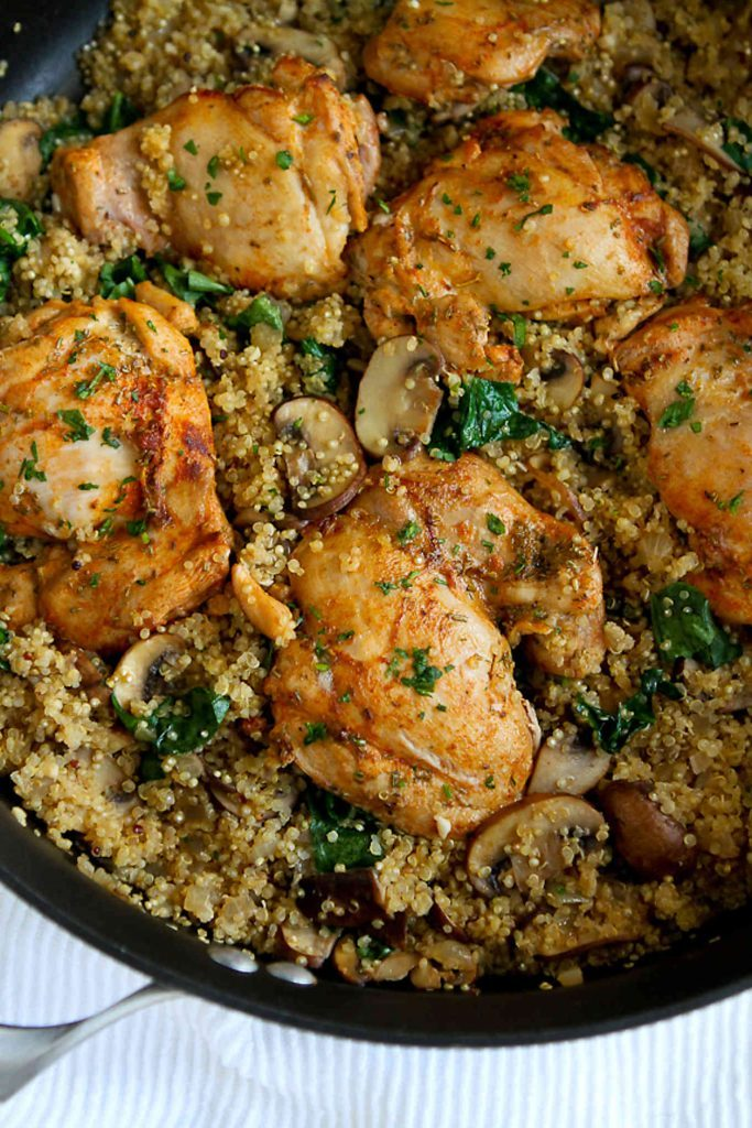 chicken recipes - One-pot chicken with cannellini beans Photo credit: Olive Magazine