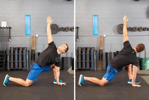 Dynamic stretching is extremely beneficial and can help improve your flexibility