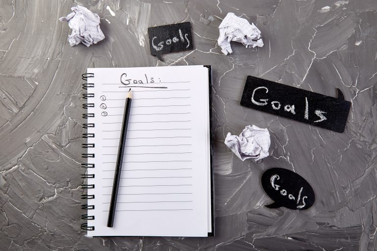 fitness and nutrition tips for busy professionals: set goals